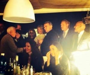 Nella foto Achille Bonito Oliva con Massimo Ferrarotti e Umberto Scrocca. Ultimo sulla destra Danilo Gigante